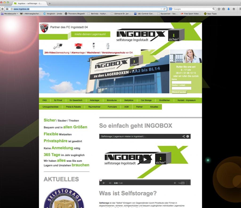 Typo3 Gestaltung und Programmierung: Werbeagentur Alfaia